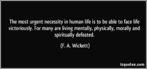 life is urgent quote